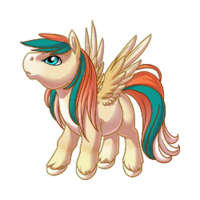 Tropical Pegasus Baby