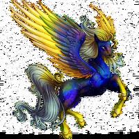 Galaxy Dust Pegasus