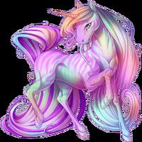 Pastel Ethercorn Striped