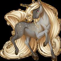 Silver Dapple Unicorn V2