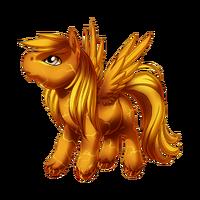 Solar Flare Pegasus Baby