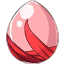 Strawberry Avalanche Pegasus Egg