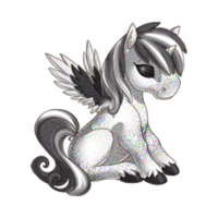 Static Alicorn Baby