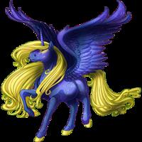 Galaxy Courser Alicorn