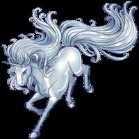 Liquid Silver Unicorn