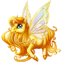 Gold Spring Fairy