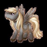 Silver Dapple Pegasus Baby