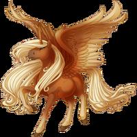 Flaxen Chestnut Alicorn