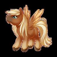 Flaxen Chestnut Pegasus Baby