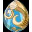 Ocean Showers Spring Fairy Egg