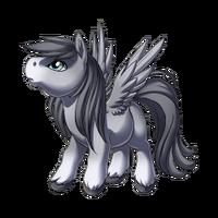 Silver Pegasus Baby