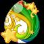 Celestial Rainbow Spring Fairy Egg