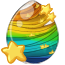 Celestial Rainbow Pegasus Egg