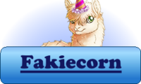 Fakiecorn Button Winter