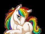 Celestial Rainbow Unicorn