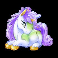 Snow Bloom Unicorn Baby