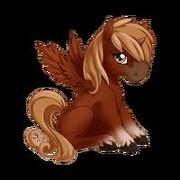 Red Chestnut Alicorn Baby