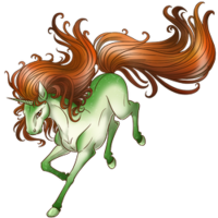 Caramel Apple Unicorn