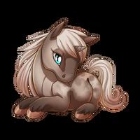 Faded Rose Unicorn Baby