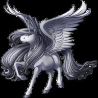 Silver Alicorn