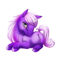 Lavender Unicorn Baby