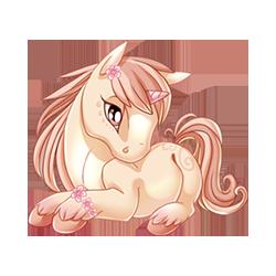 Soft Blossoms Unicorn Eternal Youth