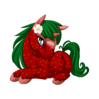 Strawberry Unicorn Baby