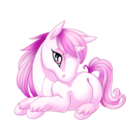 Blush Unicorn Baby