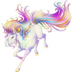 Image Prismatic Splash Unicorn Png Valley Of Unicorns