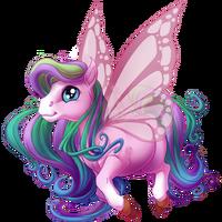 Soft Gaze Spring Fairy