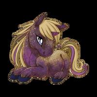 Blueberry Crumbles Unicorn Baby