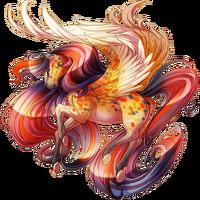 Candy Corn Confetti Pegasus V2