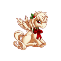 Merry Caroler Alicorn Baby