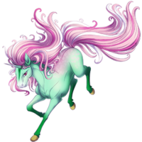Sparkling Pistachio Unicorn
