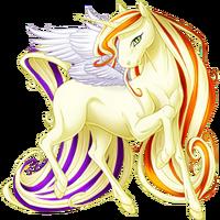 Cream Ethercorn Winged