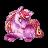 Sugarplum Dance Unicorn Baby