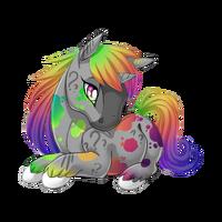 Confusion Unicorn Baby Rainbow