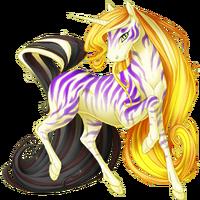 Cream Ethercorn Striped
