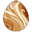 Flaxen Chestnut Alicorn Egg
