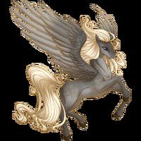 Silver Dapple Pegasus