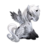 Delicate Leaf Alicorn Baby
