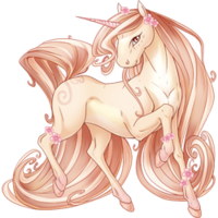 Soft Blossoms Unicorn V2