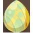 Sunny Meadow Spring Fairy Egg