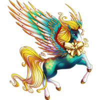 The Big Fancy Present Pegasus