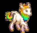 Celestial Rainbow Heraldic Unicorn