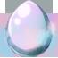 Pastel Clouds Pegasus Egg