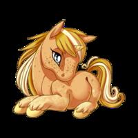 Sandy Unicorn Baby
