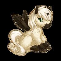 Baah Baah Black Sheep Alicorn Baby