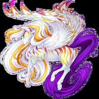 White Anniversary 2015 Pegasus V2 Striped