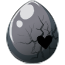 Brokenhearted Unicorn Egg